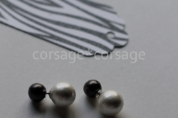 CottonPearl 2way Pierce/corsage*corsage