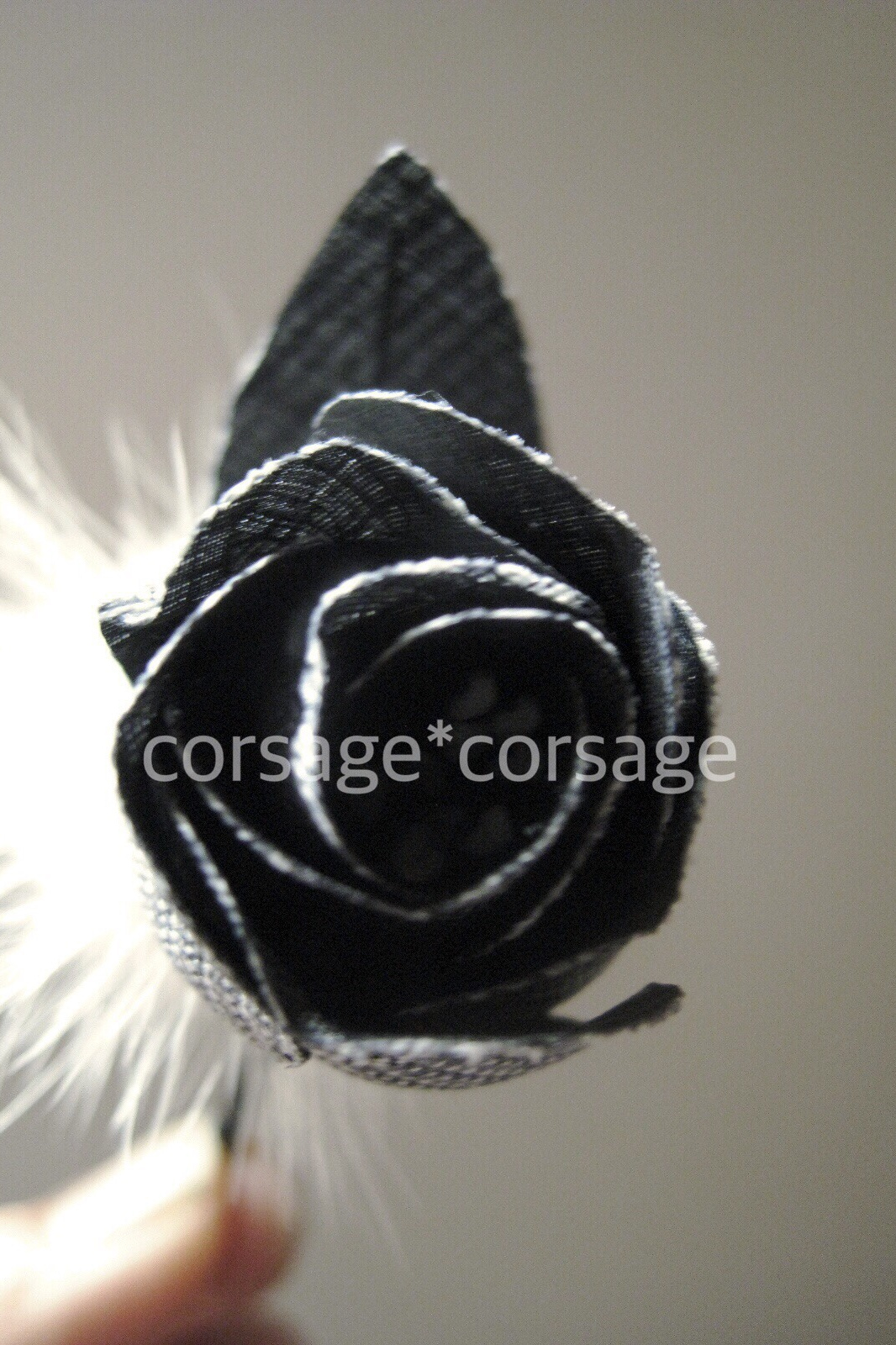 Italian Linen Rose Corsage/corsage*corsage